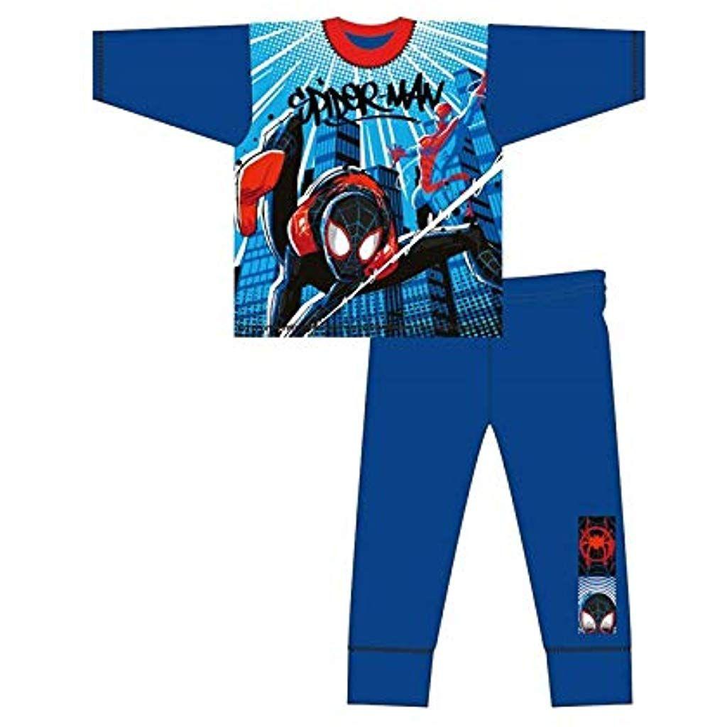 Marvel Pigiama a Maniche Lunghe per Ragazzi Avengers