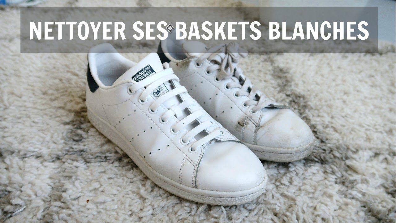 COMMENT NETTOYER SES BASKETS BLANCHES // ALEX FASHION BREAK ...