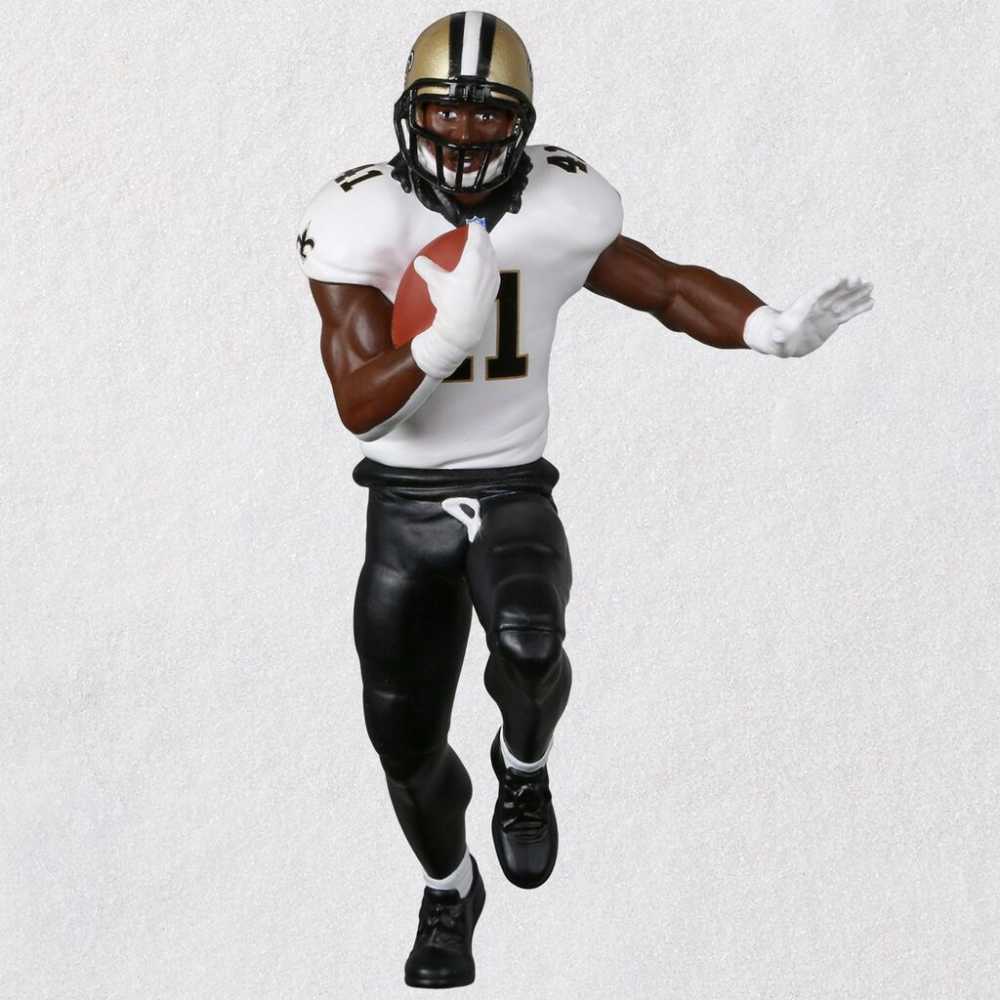 Pin By Kay S Hallmark On Add A Little Trimming To Your Tree New Orleans Saints Alvin Kamara New Orleans