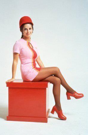 PSA #anekdotique #vintage #airhostess #stewardess #goldenage #airline #fashion #style