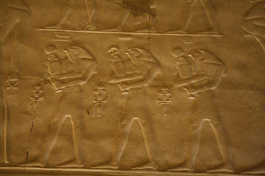 Templo de Sethi I en Abidos. Abydos , Seti I , Capilla grande de Sethi I. Great Sethos I's chapel. Grande chapelle de Sethi I. | por Soloegipto