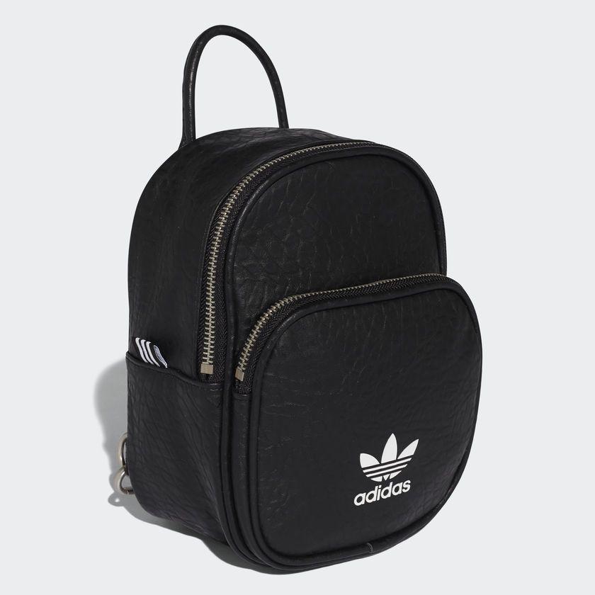 Adidas Classic Mini Backpack Black Adidas Canada Mochila De Couro Feminina Bolsas Femininas Mochila De Couro Preto