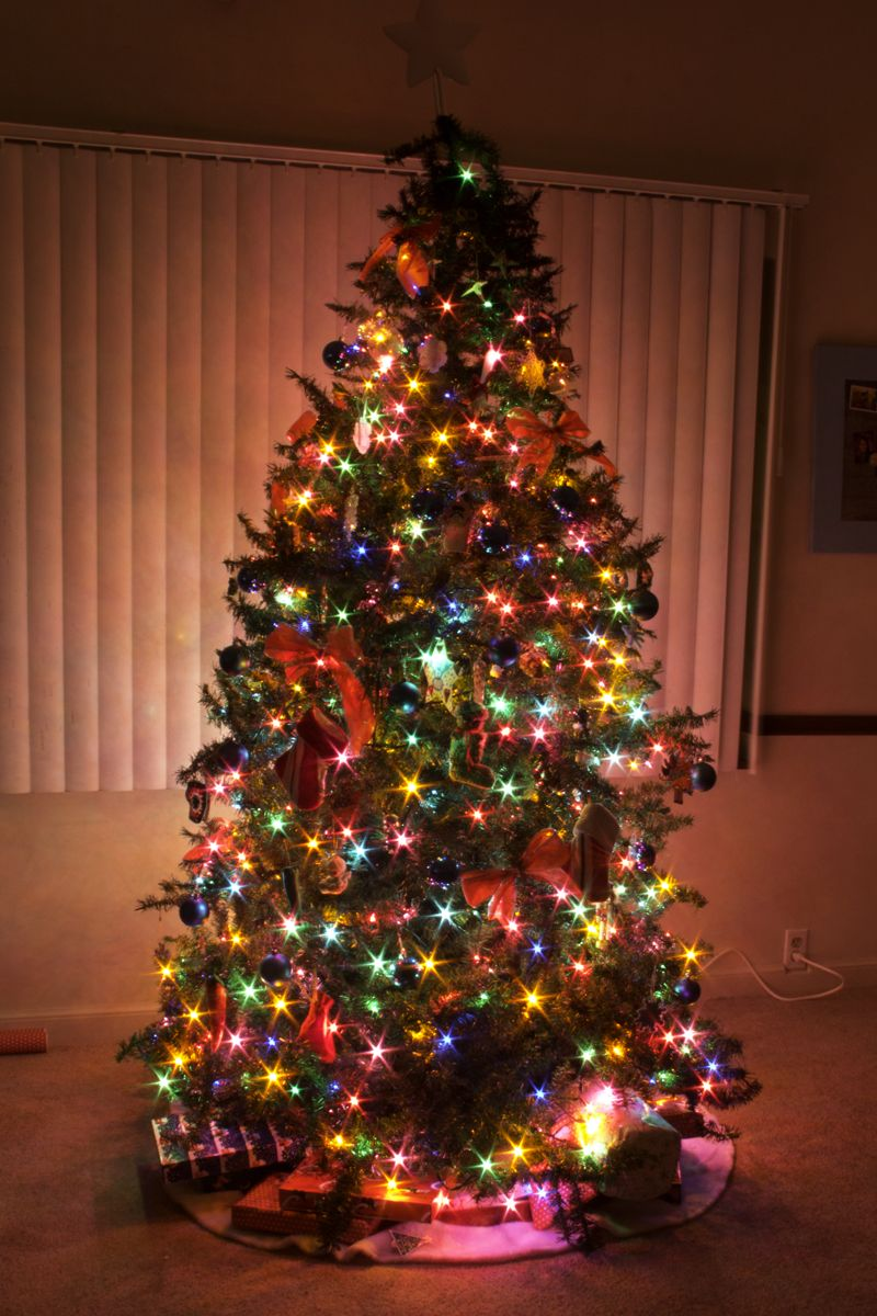 elegant christmas tree decorating ideas - styloss.com | Christmas ...