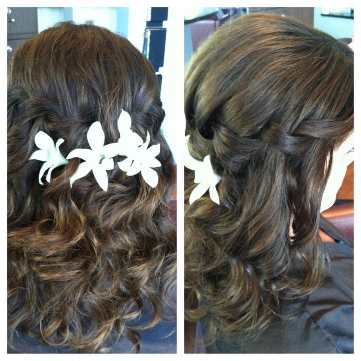 Beach wedding hair  #dawninvitescontest
