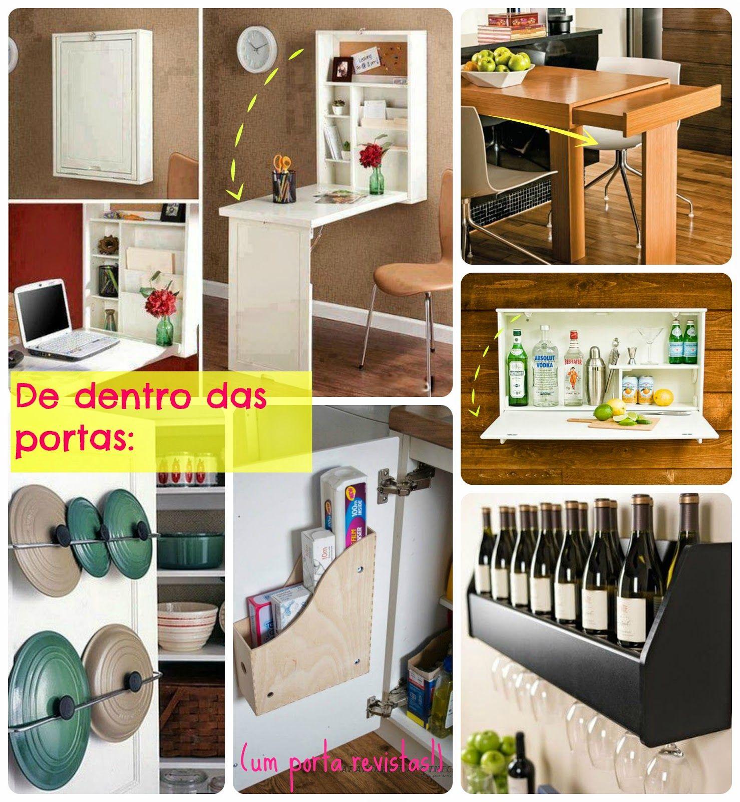 Soluções simples para pequenos ambientes - Mão na Casa