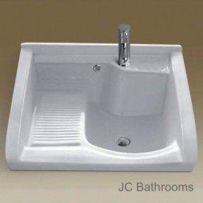 Laundry Tub Ceramic Laundry Tub Sink Csl700 In 2020 Laundry