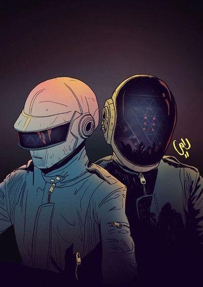 Pin en Daft Punk