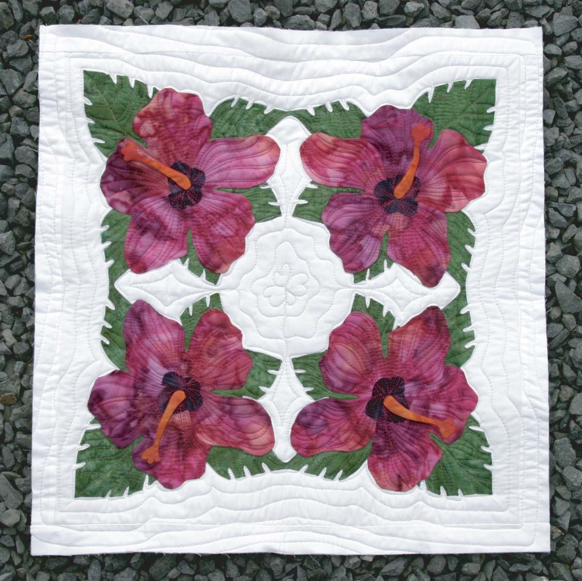 Hibiscus Aloalo Keri Designs Hawaiian Quilt Patterns Quilting Designs Quilt Patterns