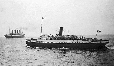 SS Nomadic, il tender del Titanic