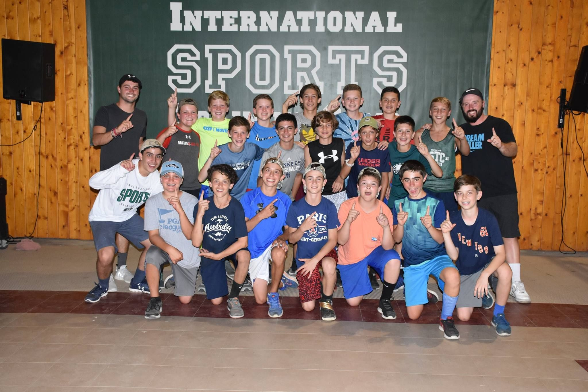International Sports Training Camp Istc Is A Summer Sports Camp For Kids Istc Combines Traditional Camping Experiences Sports Training Training Camp Sports