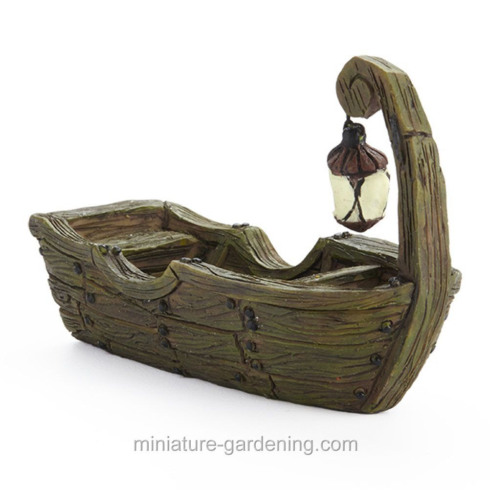 Nothing Adds An Air Of Mystery And Intrigue Quite Like The: Swamp Boat With Lantern > $8.17