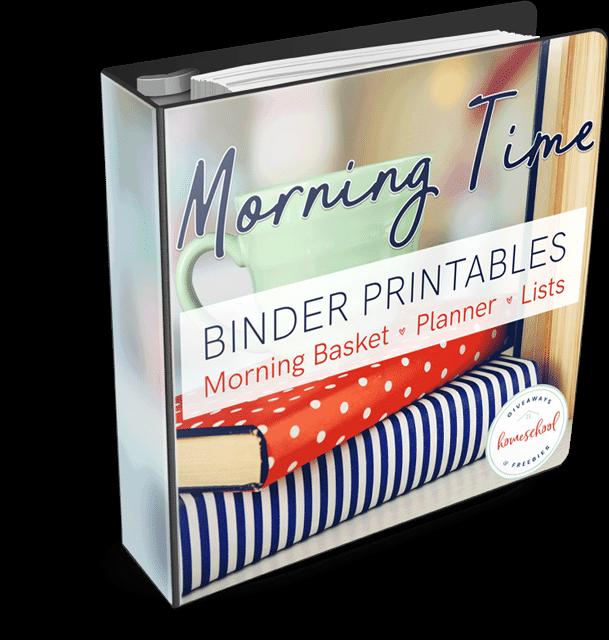 Morning Time Binder Printables