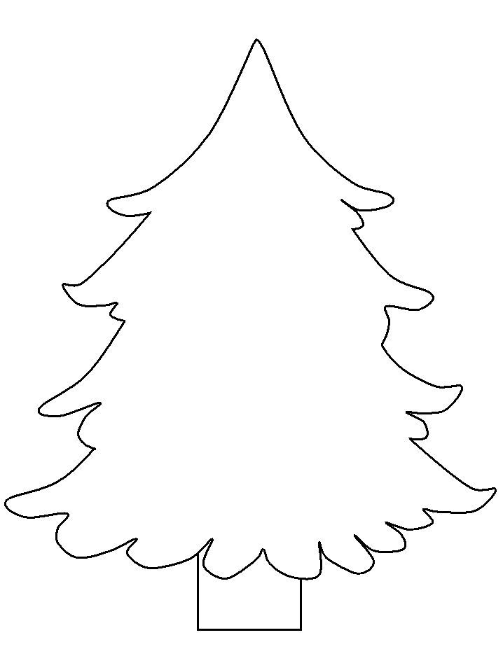 17 Best images about Tracable christmas picturestracable pictures on - new christmas tree xmas coloring pages