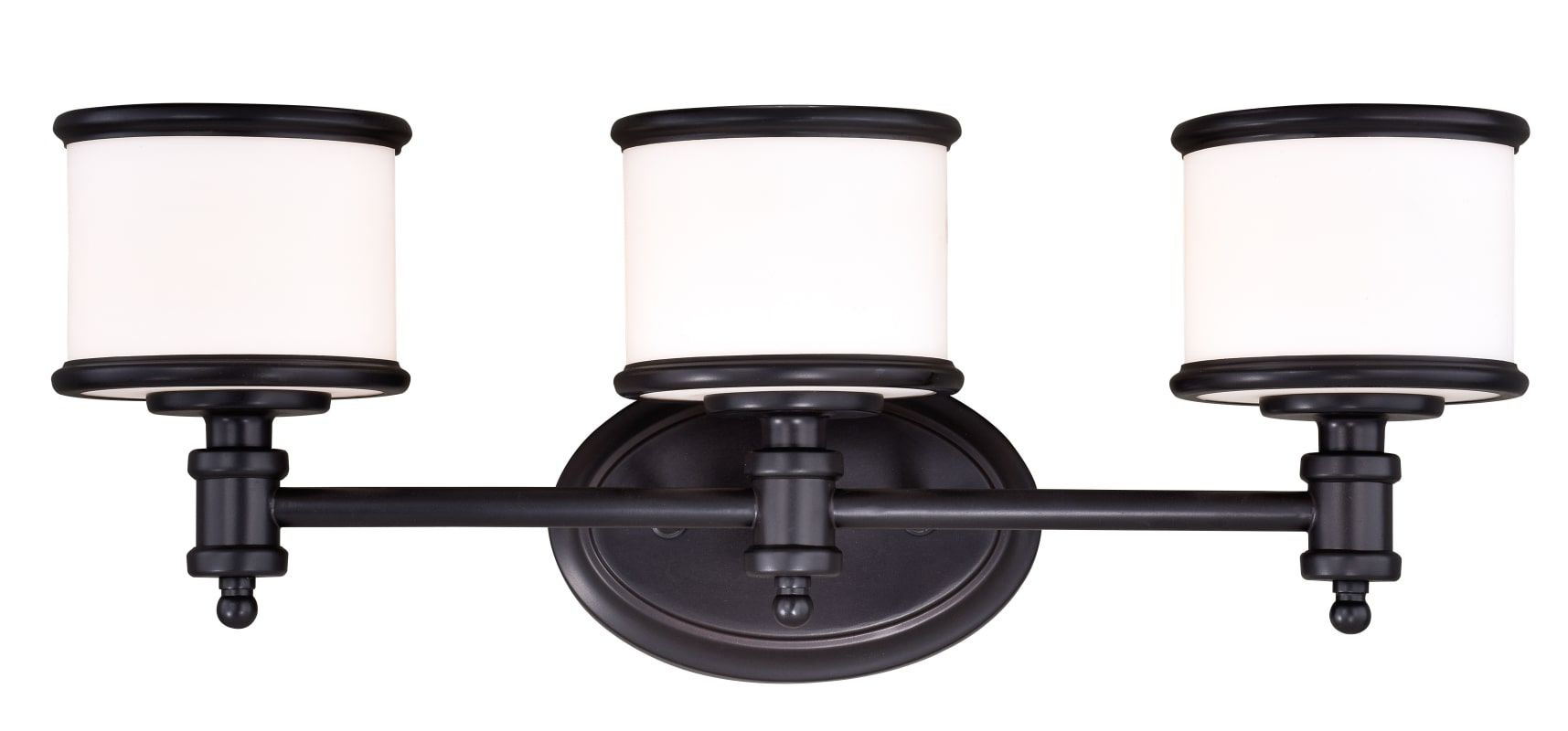 "Photo of Vaxcel Lighting CR-VLU003NB Noble Bronze Carlisle 3 Light 22-1 / 4 ""Wide Vanity Light"