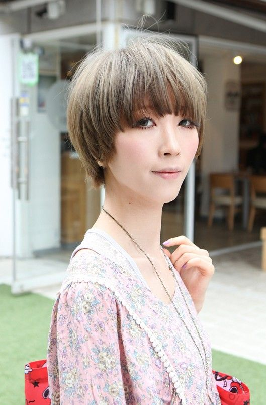 short japanese hair style beautiful bowl cut with retro fringe japanese 2719 | b6b9bd7ea268e558d4713b3a3380c251