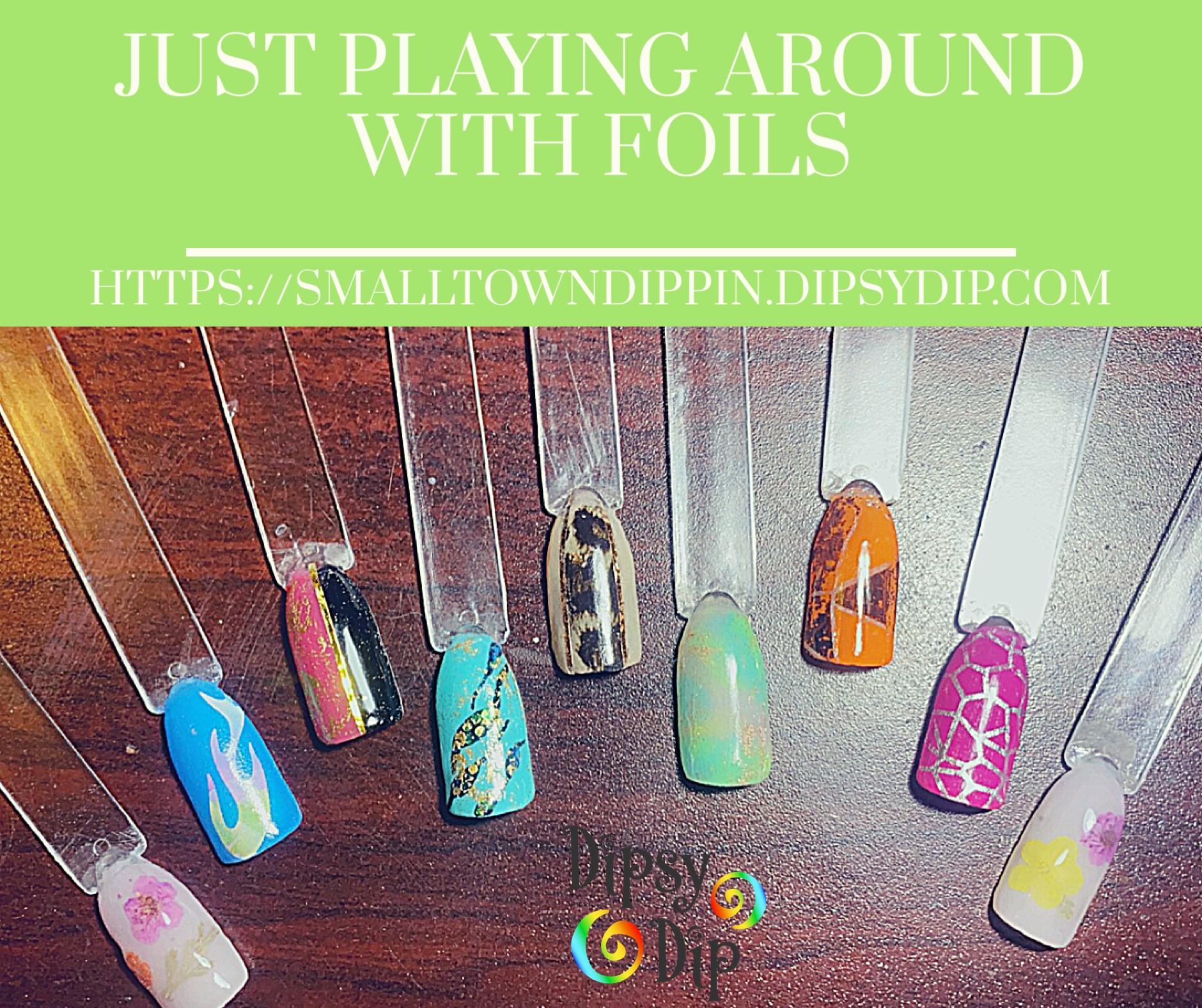 Nail Foils In 2020 Dipped Nails Foil Nails Nails