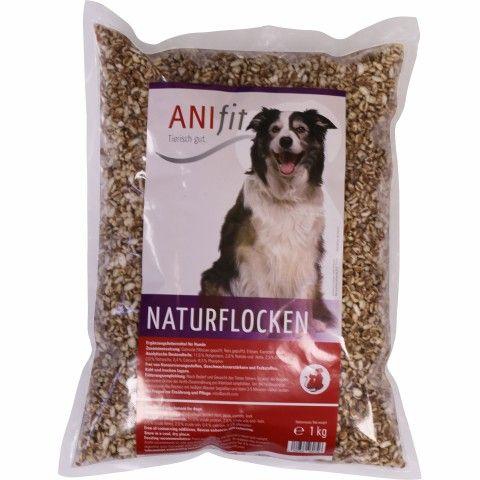 Naturflocke 1 kg (1 Stück) Hunde futter, Hundefutter
