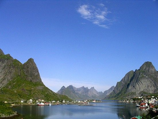 Arctic paradise Lofoten in Nordland region, Norway.