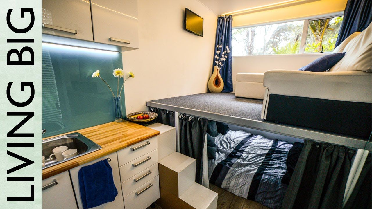 Spectacular 20ft OffTheGrid Tiny Shipping Container