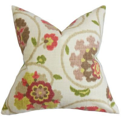 The Pillow Collection Tarian Floral