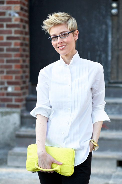 Sporty Meets Modern Classic Short Hair Styles Cool Short Hairstyles Androgynous Hair