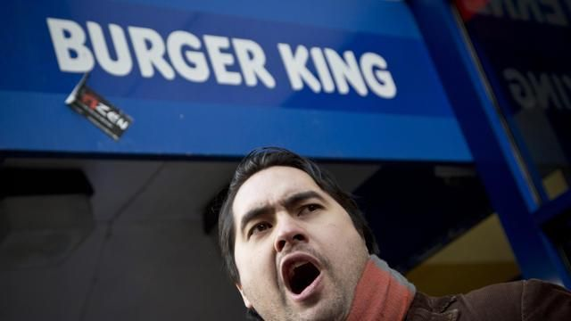 Usa, sciopero dei lavoratori dei fast food