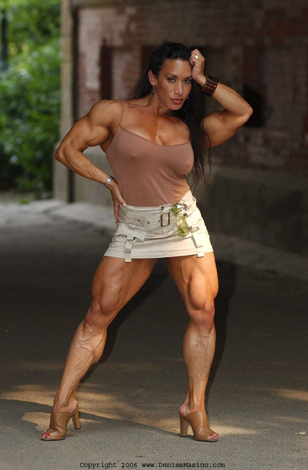 Those on! denise masino a girl her dog and a bone female bodybuilder question interesting