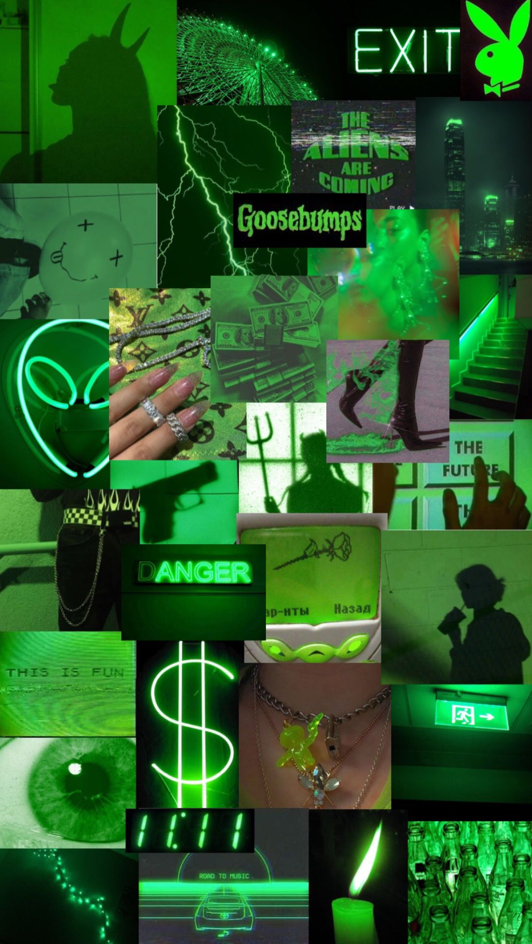 Green Aesthetic Collage Dark Wallpaper Iphone Iphone Wallpaper Tumblr Aesthetic Aesthetic Desktop Wallpaper