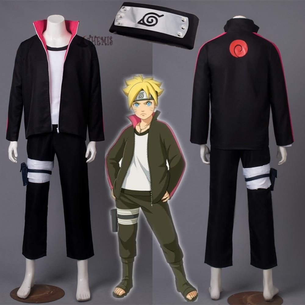Boruto Cosplay Costumes Naruto the Movie Uzumaki Boruto Cosplay Costume New