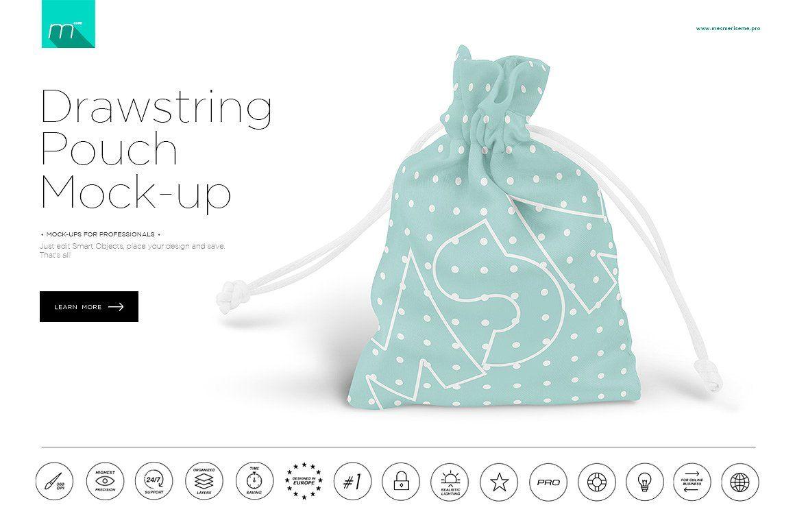 Download Drawstring Pouch Mock Up Bag Mockup Mockup Free Psd Mockup