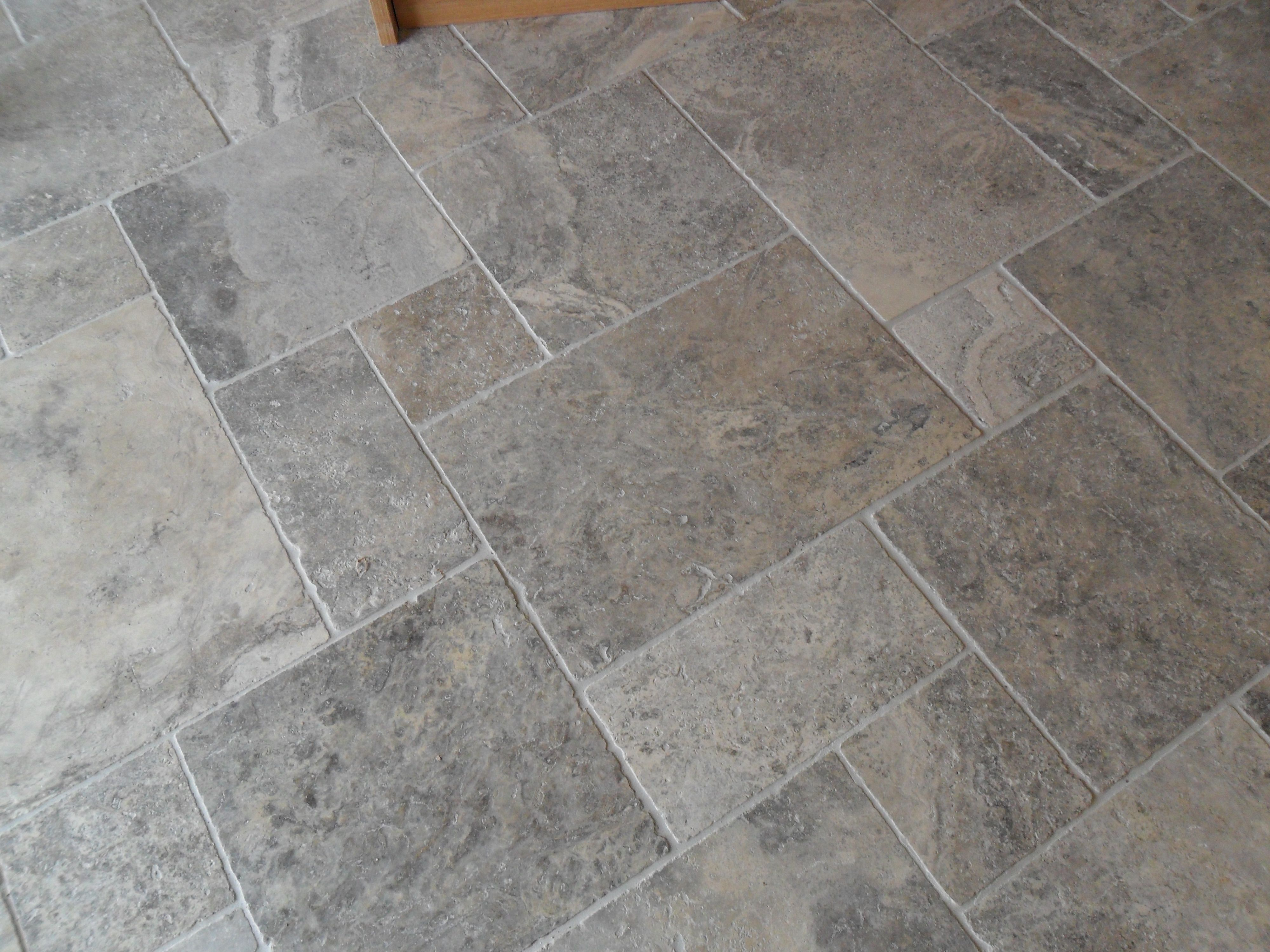 Various Sized Stone Tiles Creates Dimension In Any Room It Works