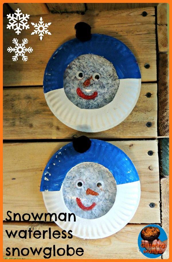 snowmanwaterlesssnowglobe