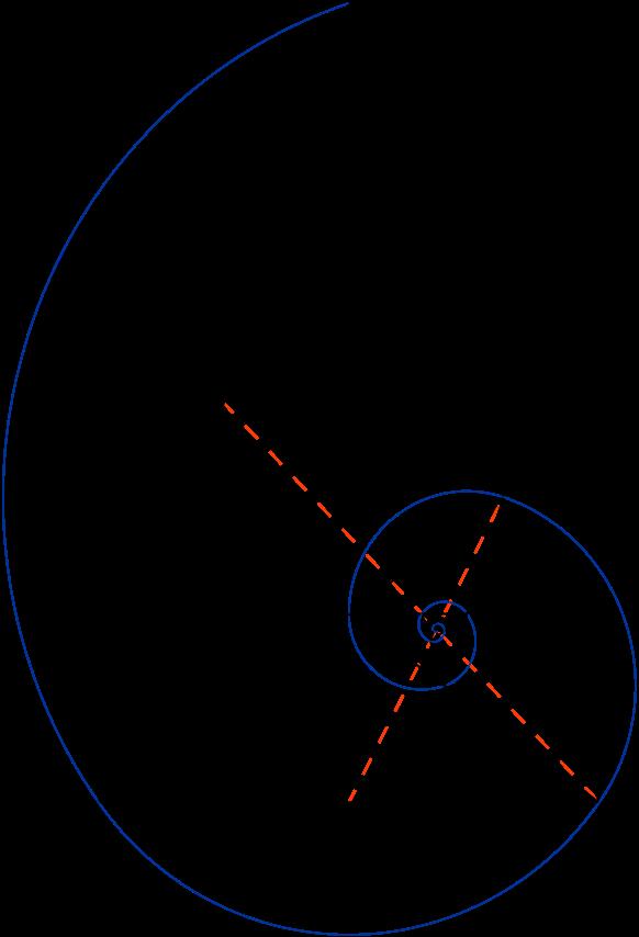 File:Golden triangle and Fibonacci spiral.svg | ink + art . | Pinterest