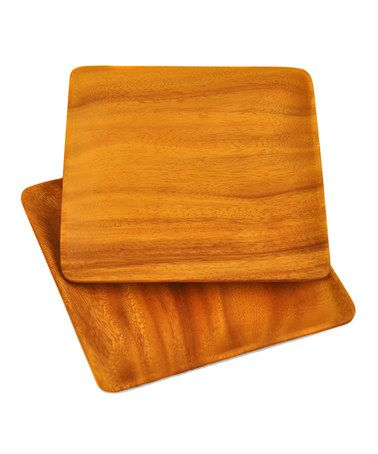 Love this Square Serving Plate - Set of Two on #zulily! #zulilyfinds