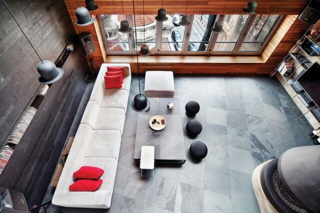 innenarchitektur industriellen stil karakoy loft, loft apt | architecture & engineering | pinterest | lofts, Design ideen