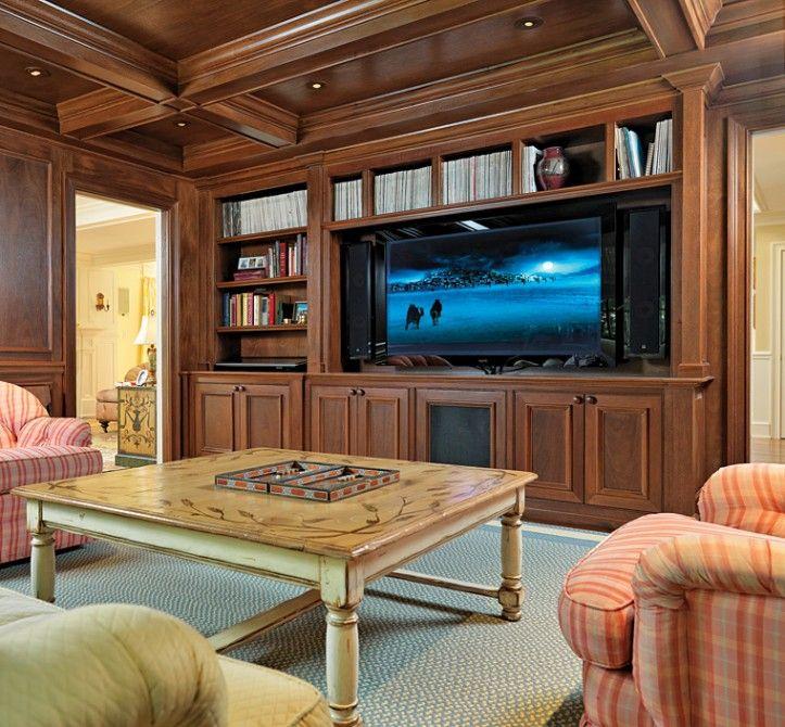 Custom Home Theater Rooms: Custom Residential Home Builder