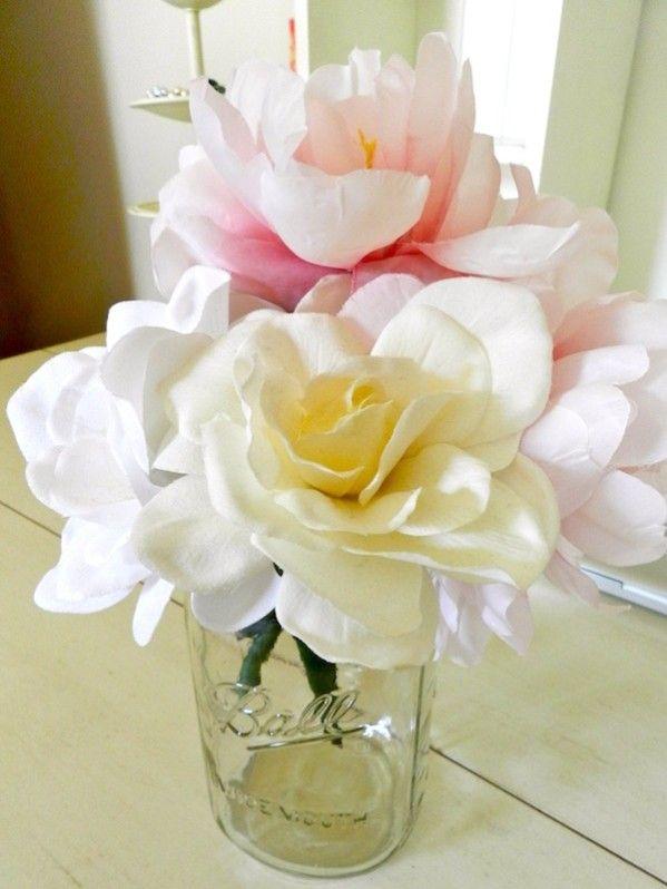 Rachel Schultz: FLOWER BOUQUET PENS | Flower pens, Diy