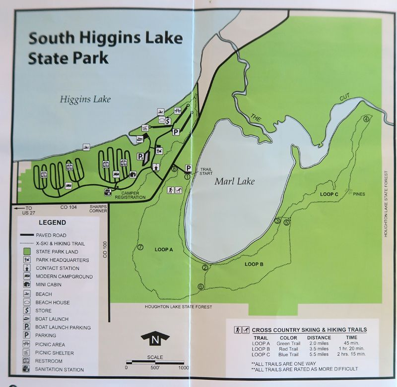 Sp Campground Review South Higgins Lake State Park Roscommon