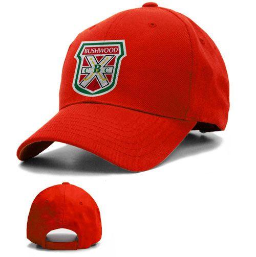 Caddyshack Bushwood Country Club Golf Red Baseball Hat 61a8c2bc3a3b