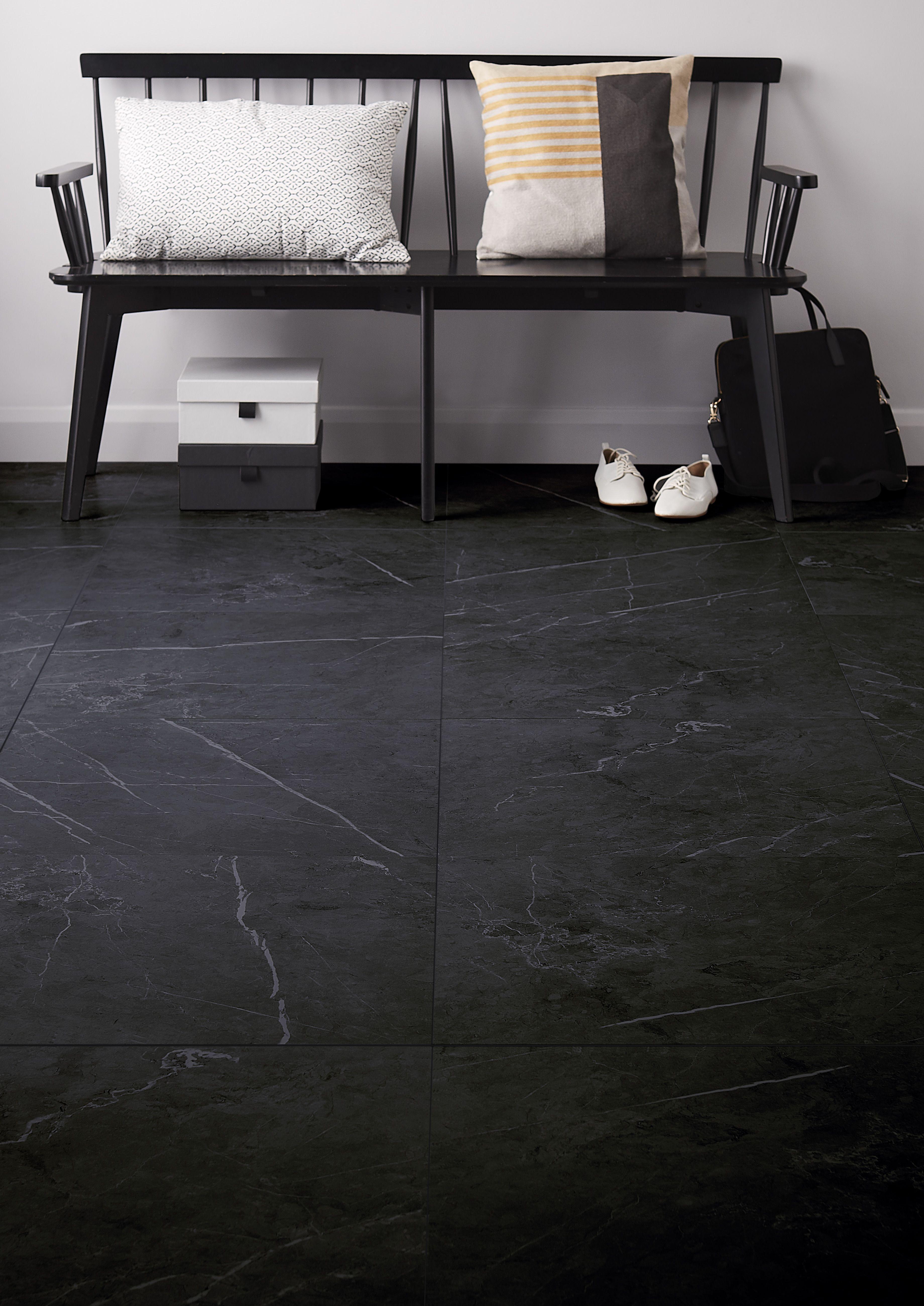 Gres Ultimate Marble Colours 60 X 60 Cm Black Mat 1 08 M2 Home Decor Marble Colors Decor