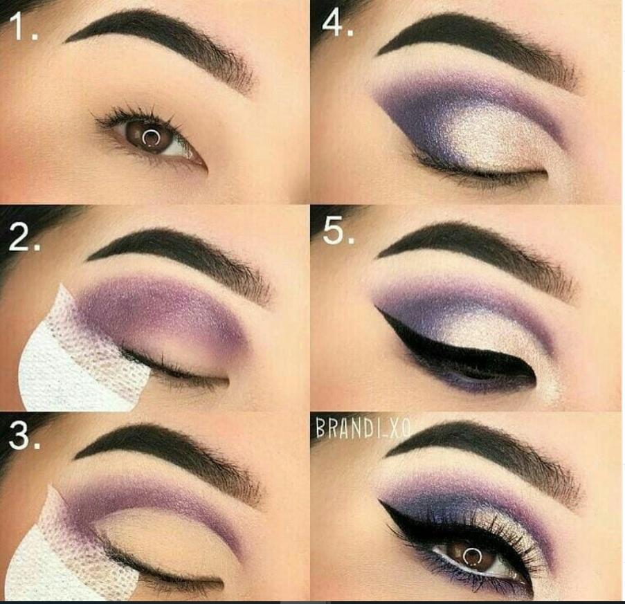 60 Easy Eye Makeup Tutorial für Anfänger Schritt für Schritt Ideen (Augenbrauen & Lidschatten) – Seite 6 von 61 – Neueste Modetrends für Frauen