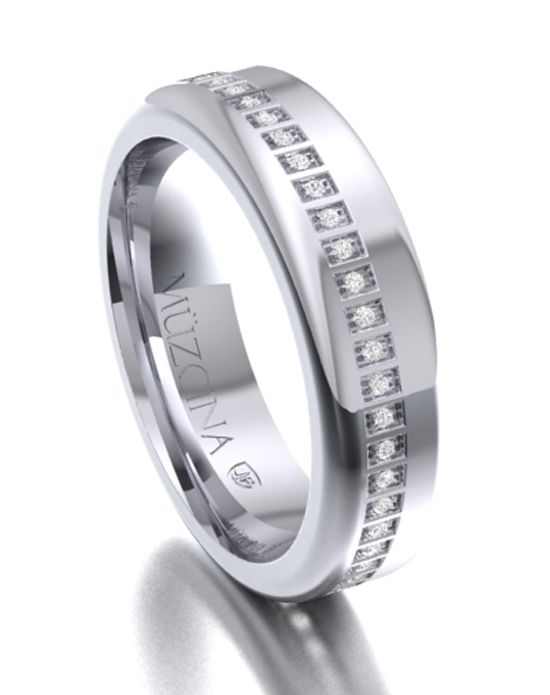 Hypoallergenic wedding ring JJ Buckar BX32 httptribal