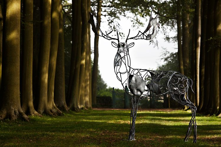 Andrew Ogilvy Photography - David Freedman - Hidcote Manor Garden Sculpture Trail