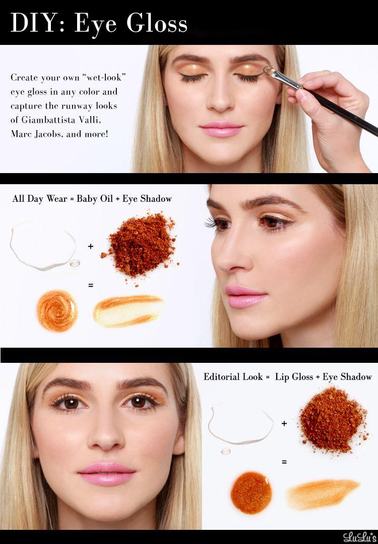 Diy Eye Gloss  Make Your Own Liquid Eye Shadow  Lulus Blog