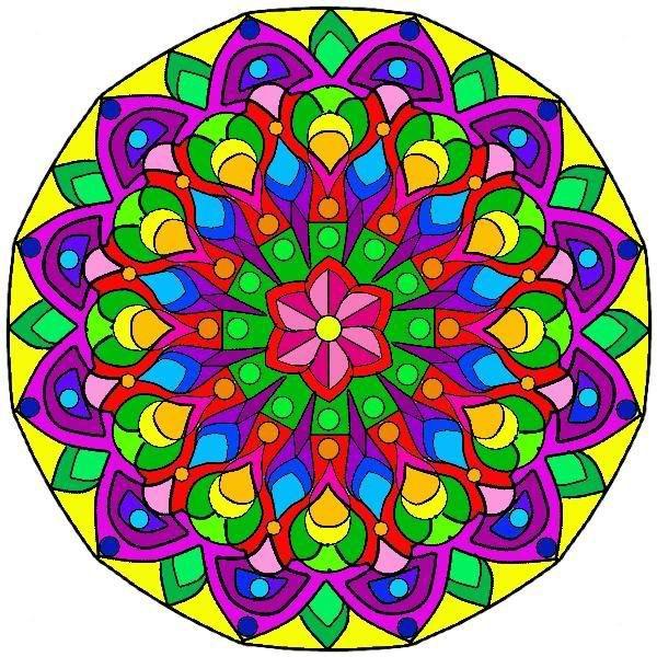 Pin by elizabeth chaney on school mandala coloring - Colores para mandalas ...