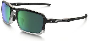 d3d036e259efa5 Oakley Triggerman Sunglasses with Polished Black Frame and Jade Iridium Lens