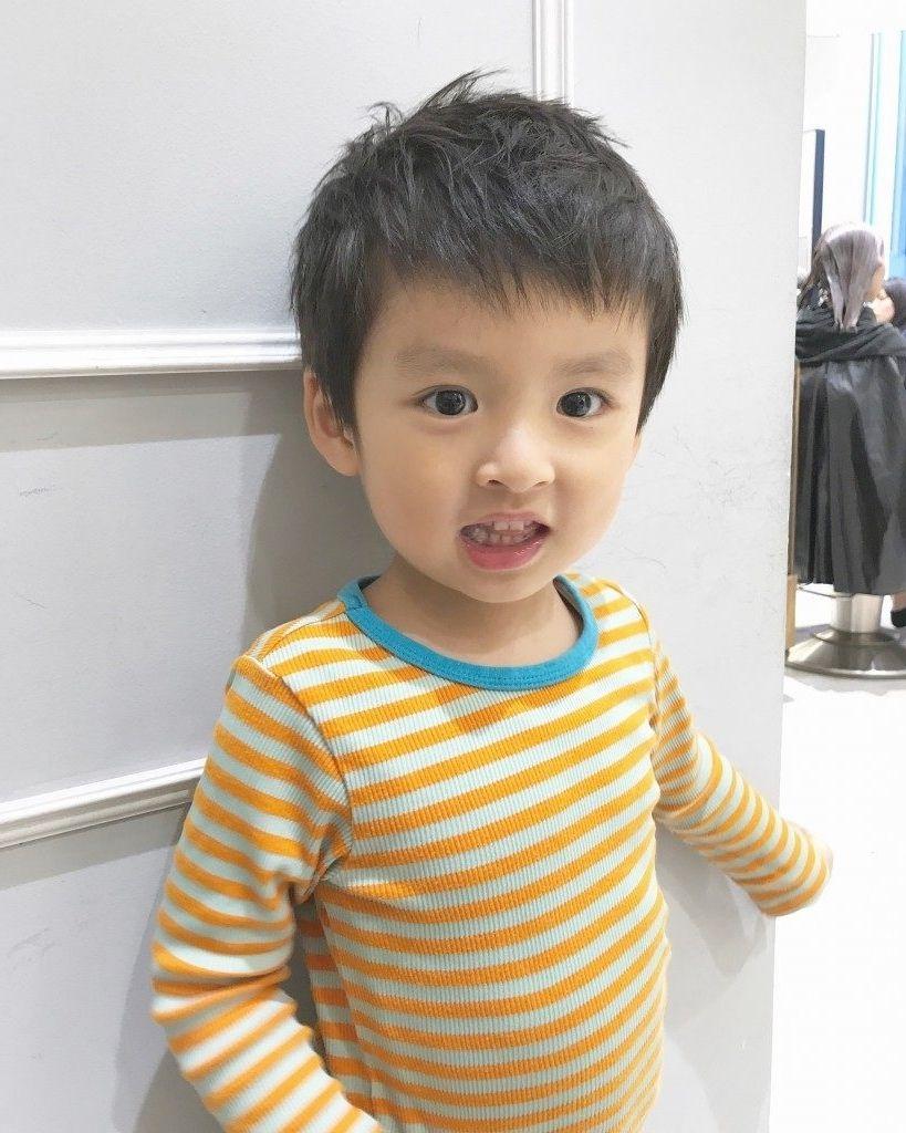 男の子 髪型 幼児 Baby Face Face Contemporary Artists