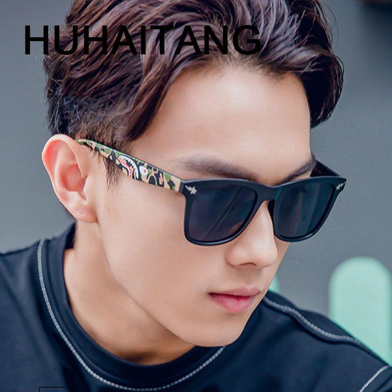 692873eceab HUHAITANG Luxury Brand Aviator Sunglasses Men Embossed Patter Women Pilot  Sun Glasses For Female UV400 Ba pe Designer Eyewear Review