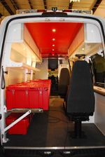 Dodge Sprinter, Mercedes Sprinter, Dodge Pro Master Cabinets: Aluminum  Cabinet Co. Duluth, MN