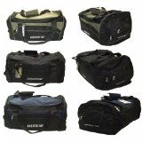 58e2160960b7 Mens Holdall Gym Sports Bag in 3 Colours - Fishing Camping School Travel  Work (Black Navy)